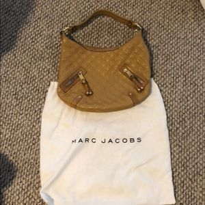 Marc jacobs camel quilted purse